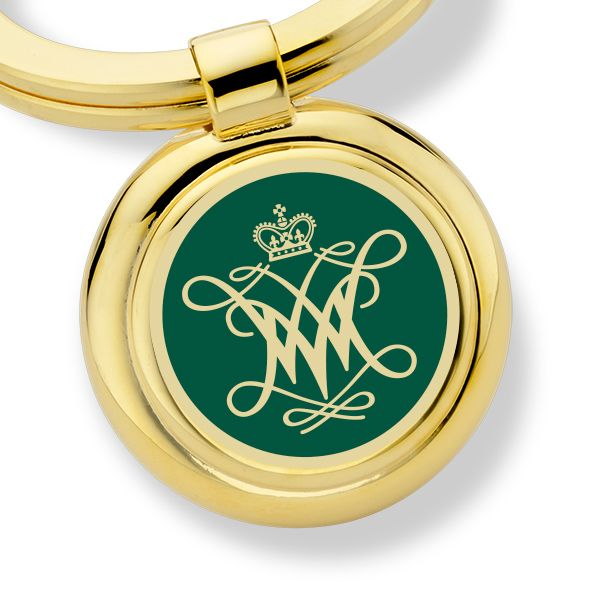 College of William & Mary Enamel Key Ring - Image 2
