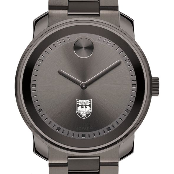 University of Chicago Men's Movado BOLD Gunmetal Grey