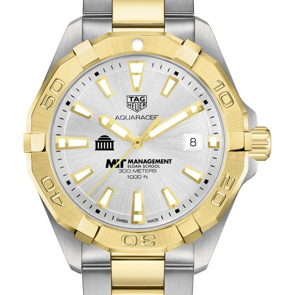 MIT Sloan Men's TAG Heuer Two-Tone Aquaracer - Image 1