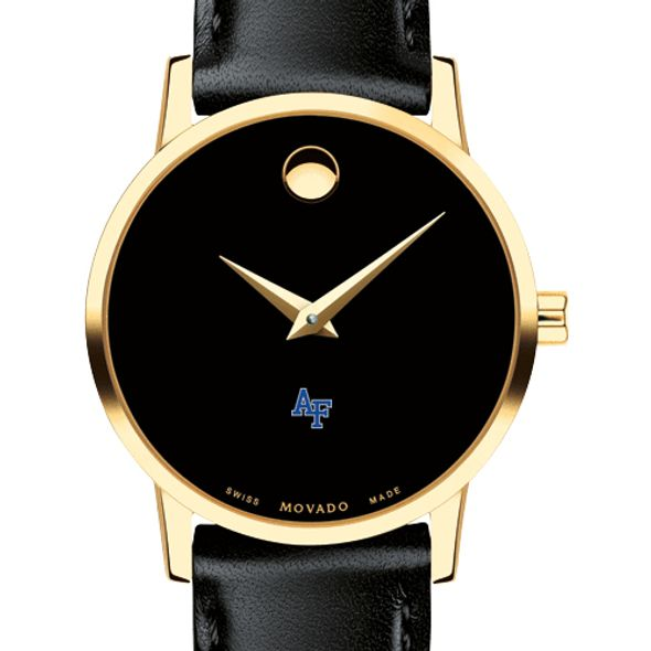 US Air Force Academy Women's Movado Gold Museum Classic Leather - Image 1