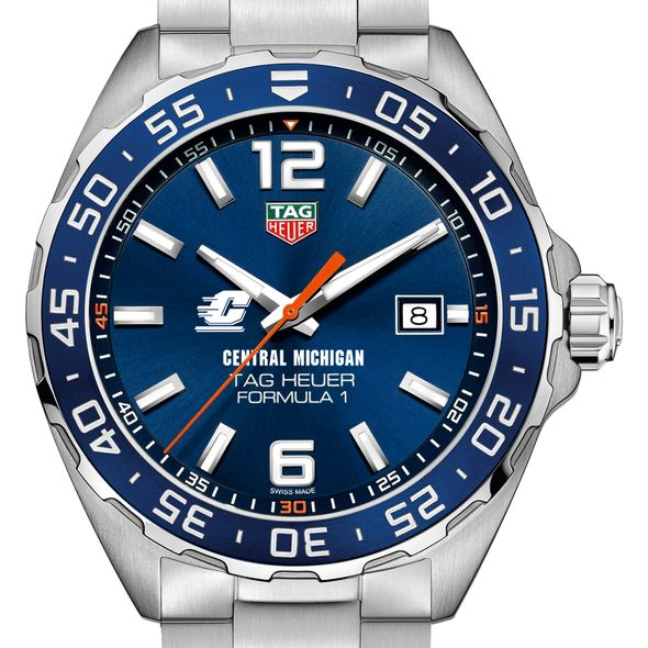 Central Michigan Men's TAG Heuer Formula 1 with Blue Dial & Bezel