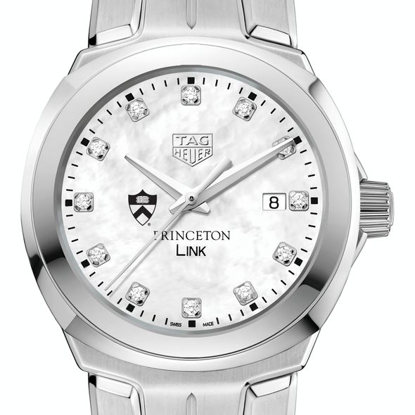 Princeton University TAG Heuer Diamond Dial LINK for Women - Image 1