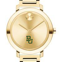 Baylor University Women's Movado Gold Bold 34