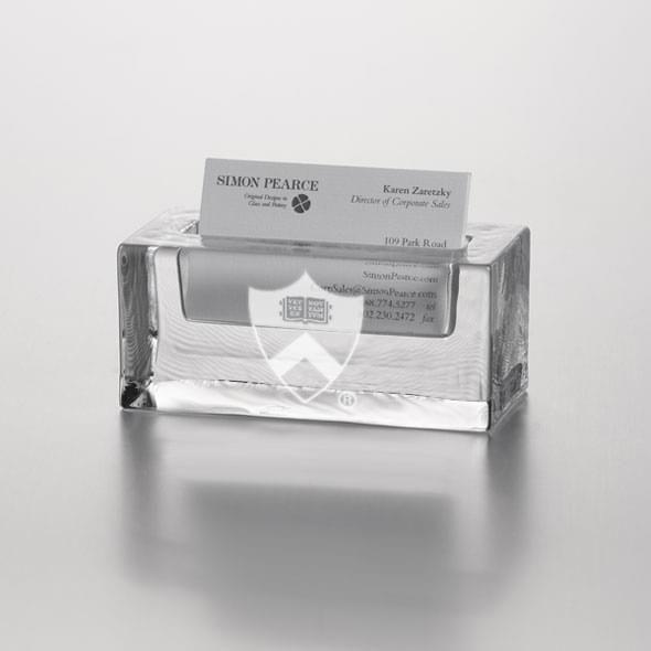 Princeton Glass Business Cardholder by Simon Pearce - Image 2