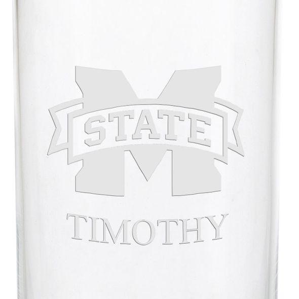 Mississippi State Iced Beverage Glasses - Set of 4 - Image 3