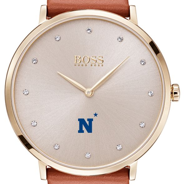US Naval Academy Women's BOSS Champagne with Leather from M.LaHart