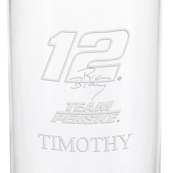 Ryan Blaney Iced Beverage Glass - Image 3