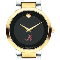 University of Alabama Men's Movado Two-Tone Modern Classic Museum with Bracelet