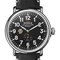 Boston College Shinola Watch, The Runwell 47mm Black Dial