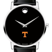 University of Tennessee Men's Movado Museum with Leather Strap