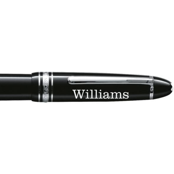 Williams College Montblanc Meisterstück LeGrand Rollerball Pen in Platinum - Image 2