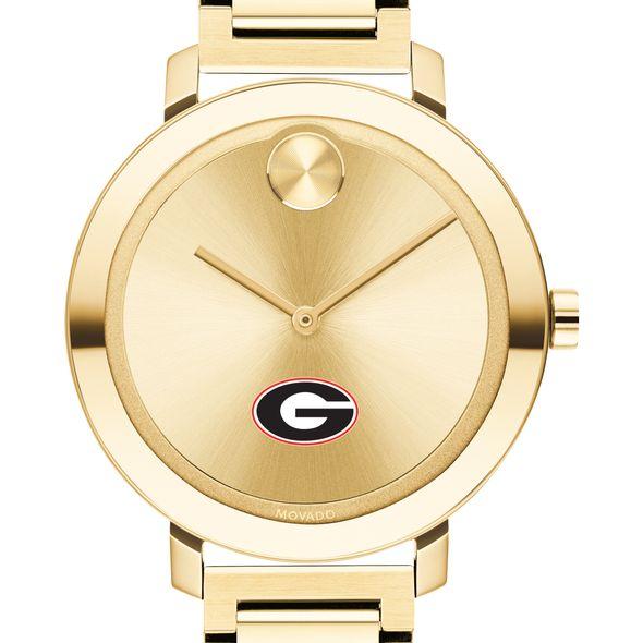 University of Georgia Women's Movado Gold Bold 34 - Image 1