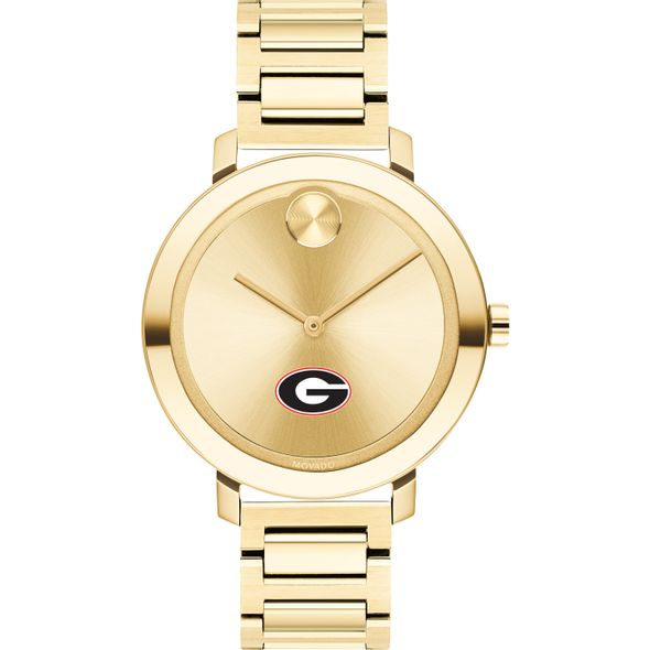 University of Georgia Women's Movado Gold Bold 34 - Image 2