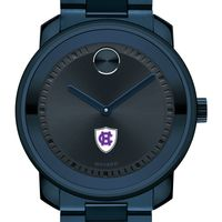 Holy Cross Men's Movado BOLD Blue Ion with Bracelet