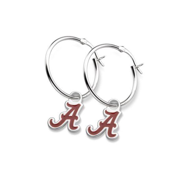 University of Alabama Sterling Silver Earrings