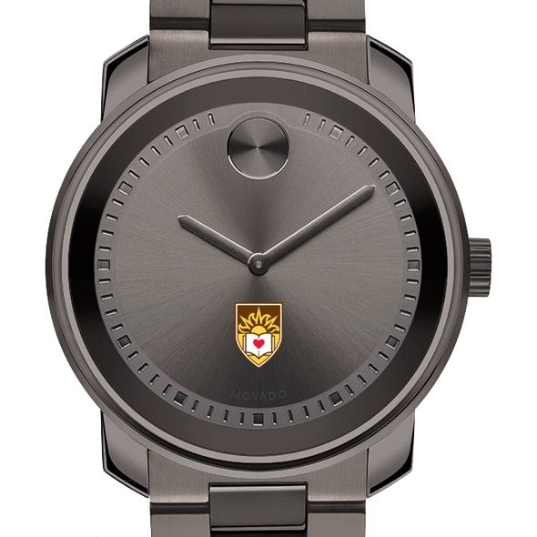 Lehigh University Men's Movado BOLD Gunmetal Grey