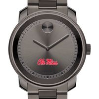 University of Mississippi Men's Movado BOLD Gunmetal Grey