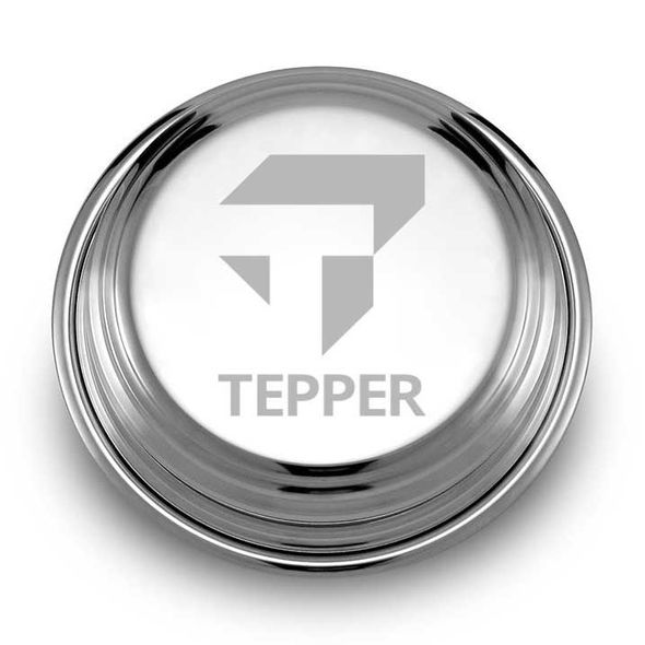Tepper Pewter Paperweight - Image 1