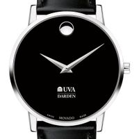 UVA Darden Men's Movado Museum with Leather Strap