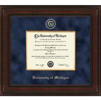 Michigan Excelsior PhD Diploma Frame