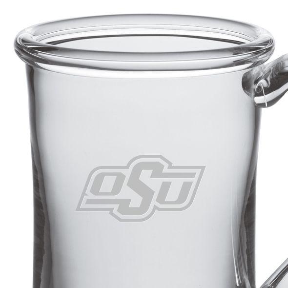 Oklahoma State University Glass Tankard by Simon Pearce - Image 2