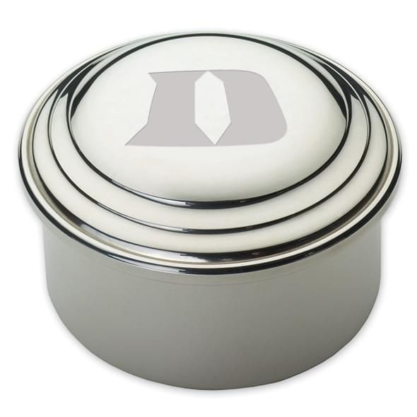 Duke Pewter Keepsake Box