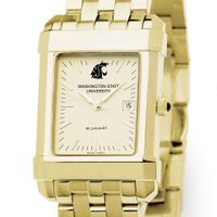 Washington State University Men's Gold Quad with Bracelet