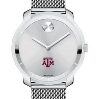 Texas A&M Women's Movado Stainless Bold 36