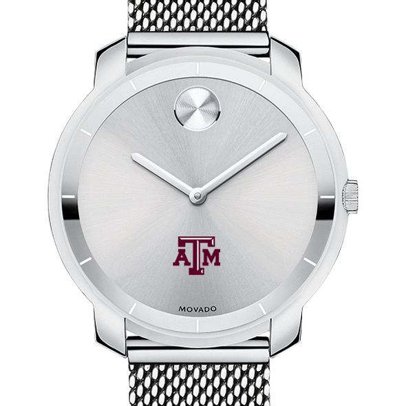Texas A&M University Women's Movado Stainless Bold 36