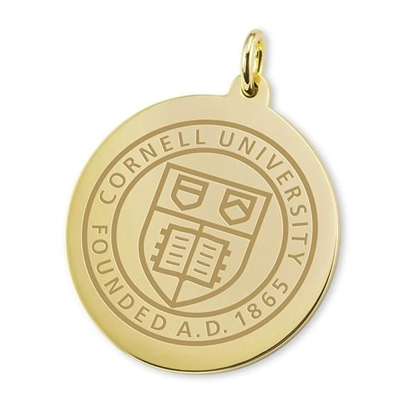 Cornell 18K Gold Charm - Image 1
