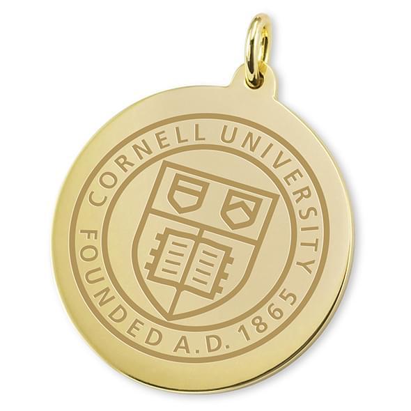 Cornell 18K Gold Charm - Image 2
