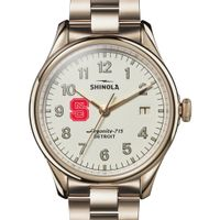 NC State Shinola Watch, The Vinton 38mm Ivory Dial