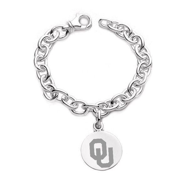 Oklahoma Sterling Silver Charm Bracelet