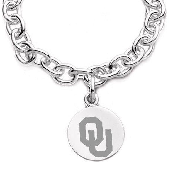 Oklahoma Sterling Silver Charm Bracelet - Image 2