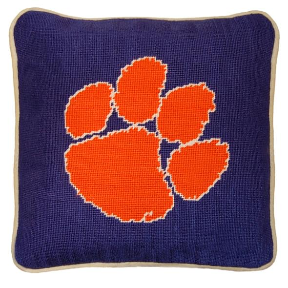 Clemson Handstitched Pillow - Image 2