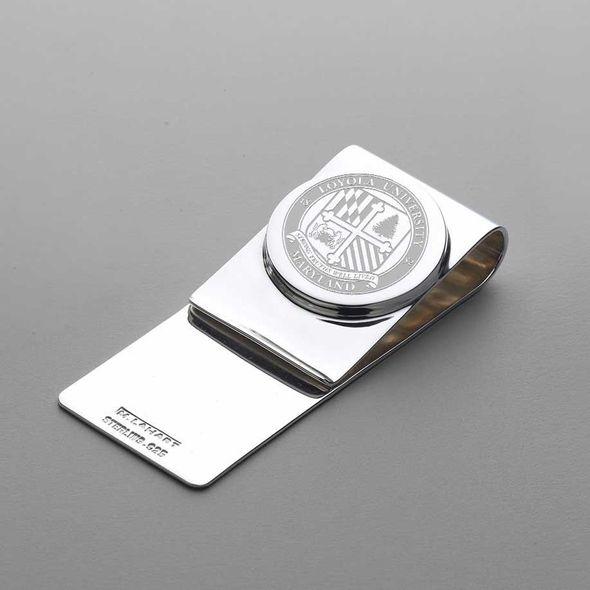Loyola Sterling Silver Money Clip - Image 1