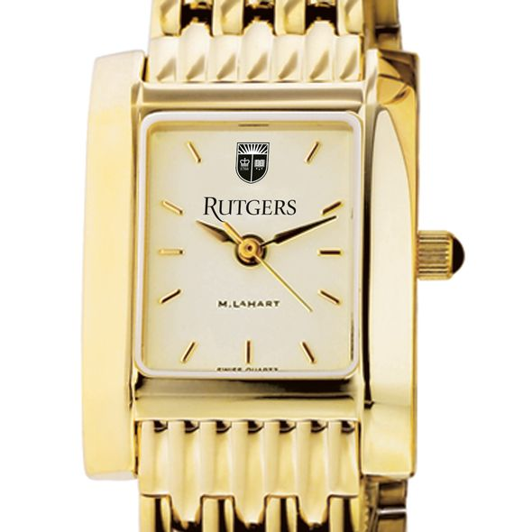 Rutgers University Women's Gold Quad with Bracelet