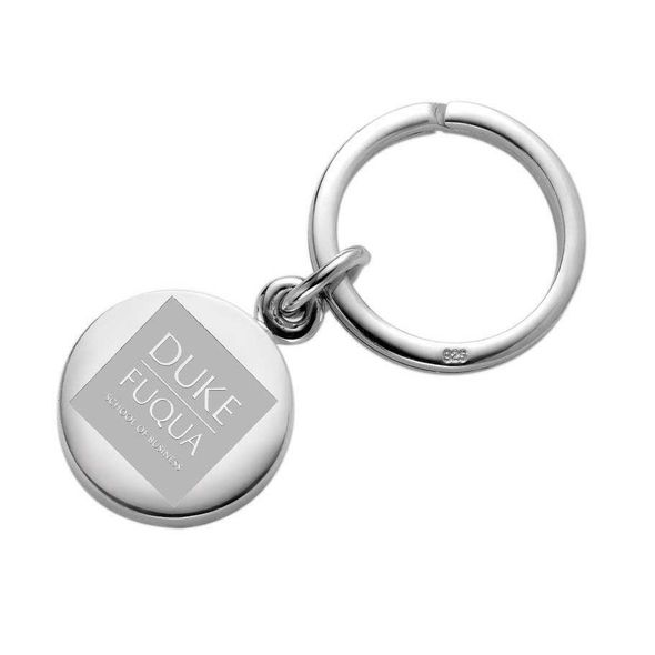 Duke Fuqua Sterling Silver Insignia Key Ring