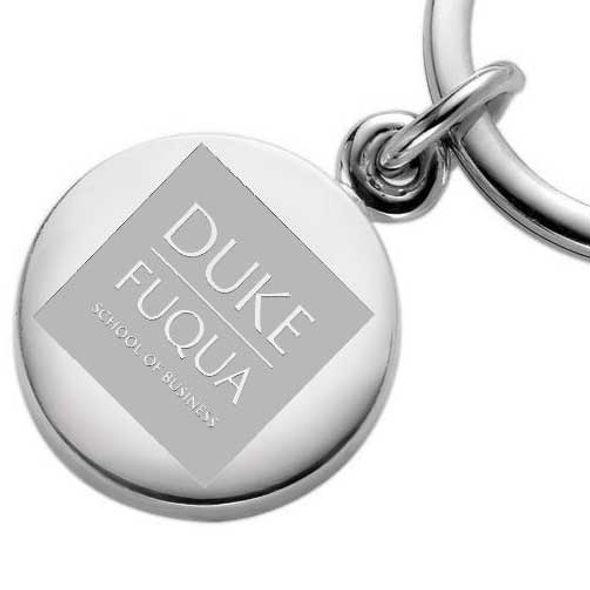 Duke Fuqua Sterling Silver Insignia Key Ring - Image 2