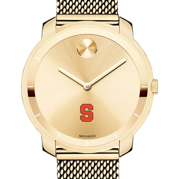 Syracuse University Women's Movado Gold Bold 36 - Image 1