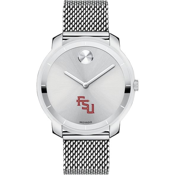 Florida State University Women's Movado Stainless Bold 36 - Image 2