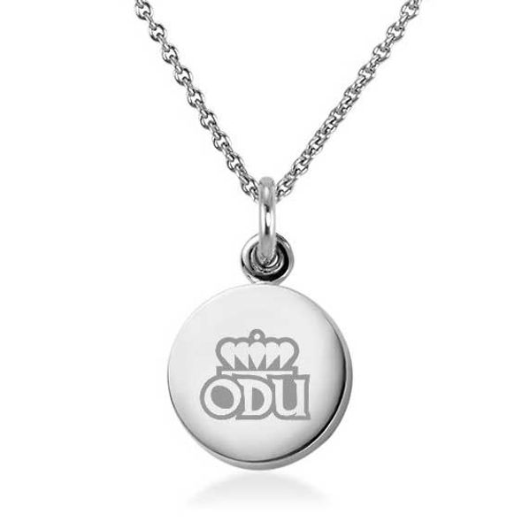 Old Dominion Necklace with Charm in Sterling Silver