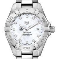 Williams College W's TAG Heuer Steel Aquaracer w MOP Dia Dial