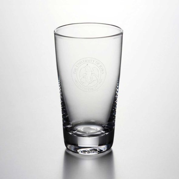 University of Iowa Ascutney Pint Glass by Simon Pearce