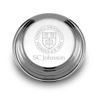 SC Johnson College Pewter Paperweight