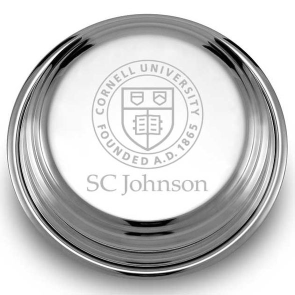 SC Johnson College Pewter Paperweight - Image 2