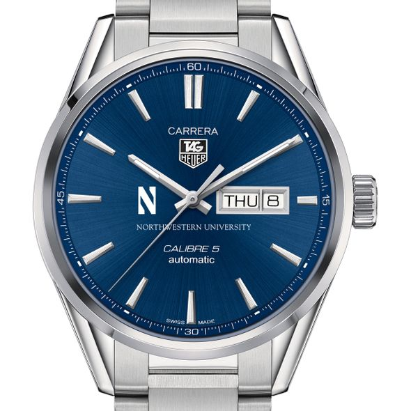 Northwestern University Men's TAG Heuer Carrera with Day-Date