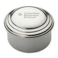 Columbia Business Pewter Keepsake Box