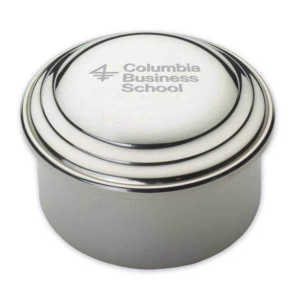 Columbia Business Pewter Keepsake Box - Image 1