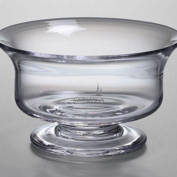 Gonzaga Simon Pearce Glass Revere Bowl Med - Image 2